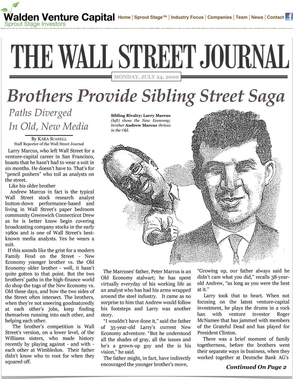 Brothers Provide Sibling Street Saga