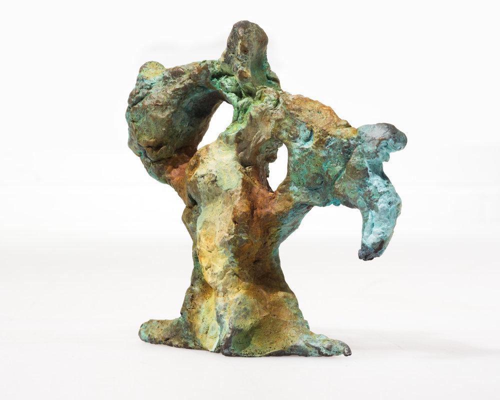 DRIFTER FROM CHEMICAL COAST cast bronze, 2016
