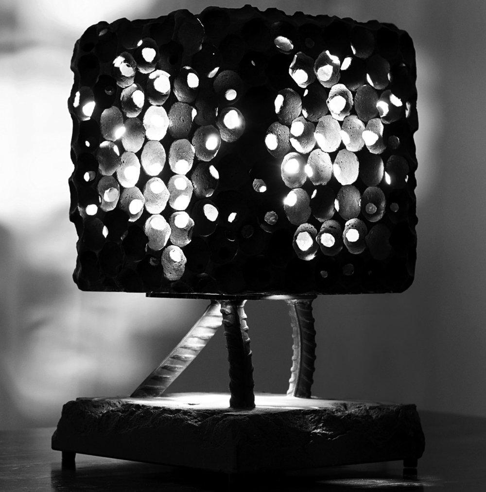 Lava Rock Lamp