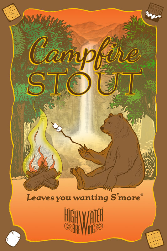 Highwater Brewing - Campfire Stout