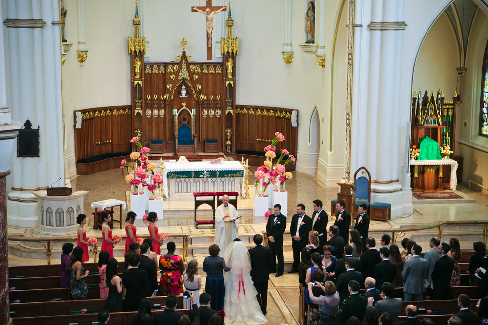 Holy Rosary Cathedral ceremony