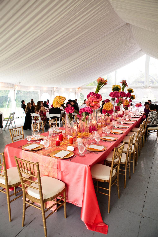 Coral wedding at Hart House, Burnaby