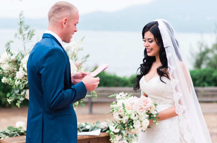 Outdoor ceremony Stanley Park Vancouver