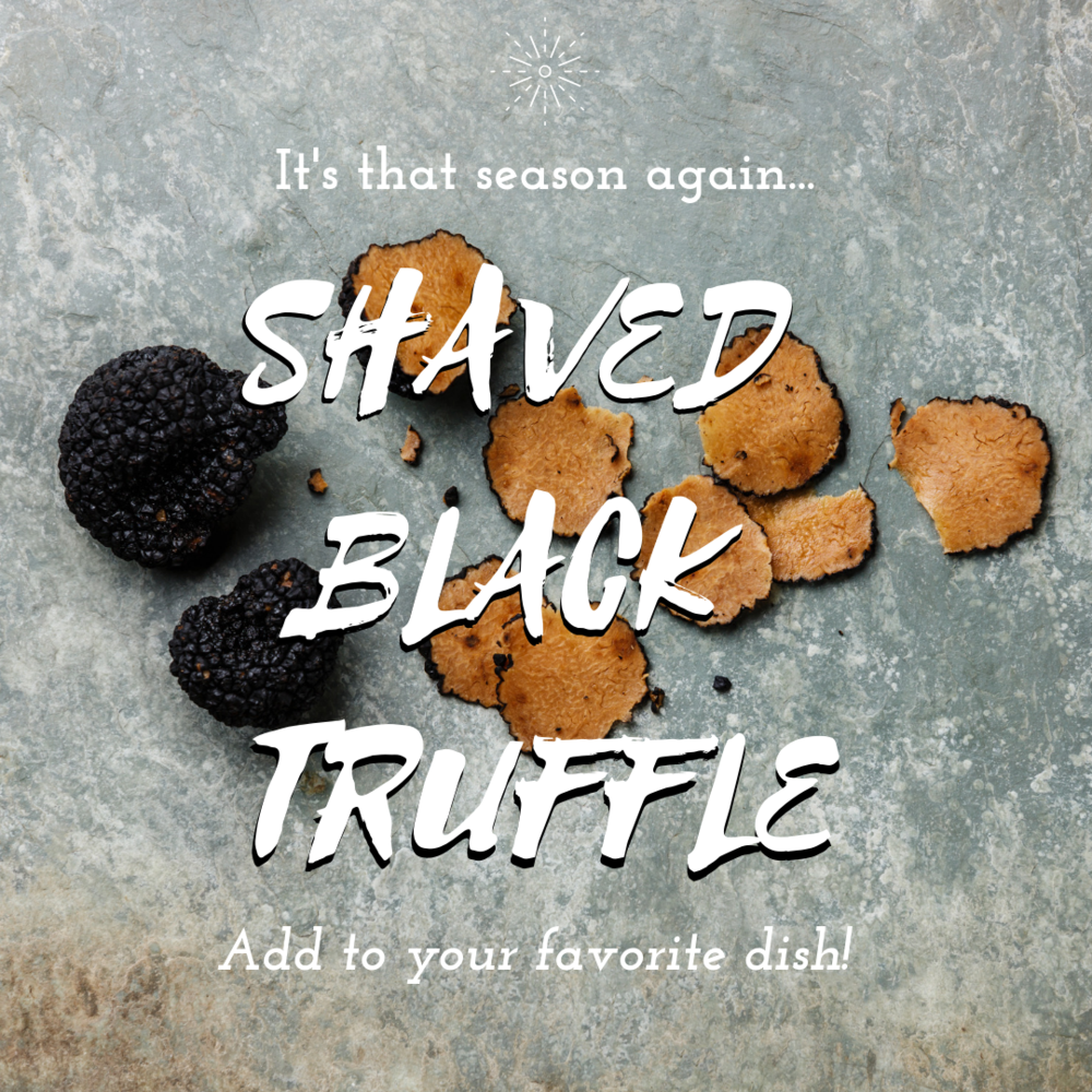Shaved Black Truffle