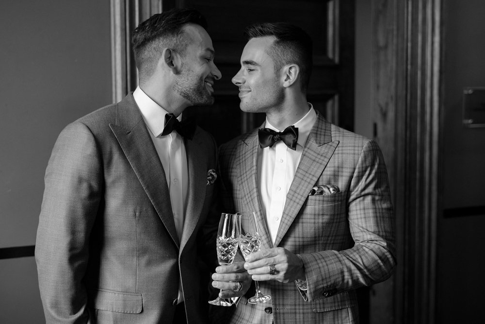 Taylor Fielding - Matt Joudo - Same-Sex Wedding Editorial