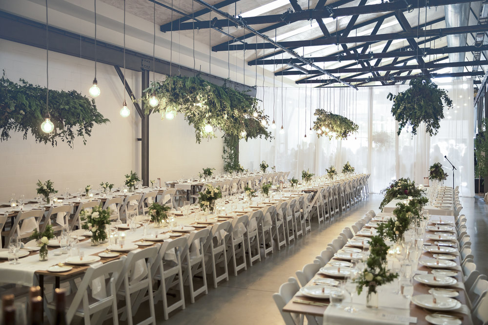 Twotonmax - Location: Melbourne, VICTwotonmax is a stunning blank canvas venue ready for couples to make their own. This exceptionally maintained warehouse transforms to match individual tastes and style.