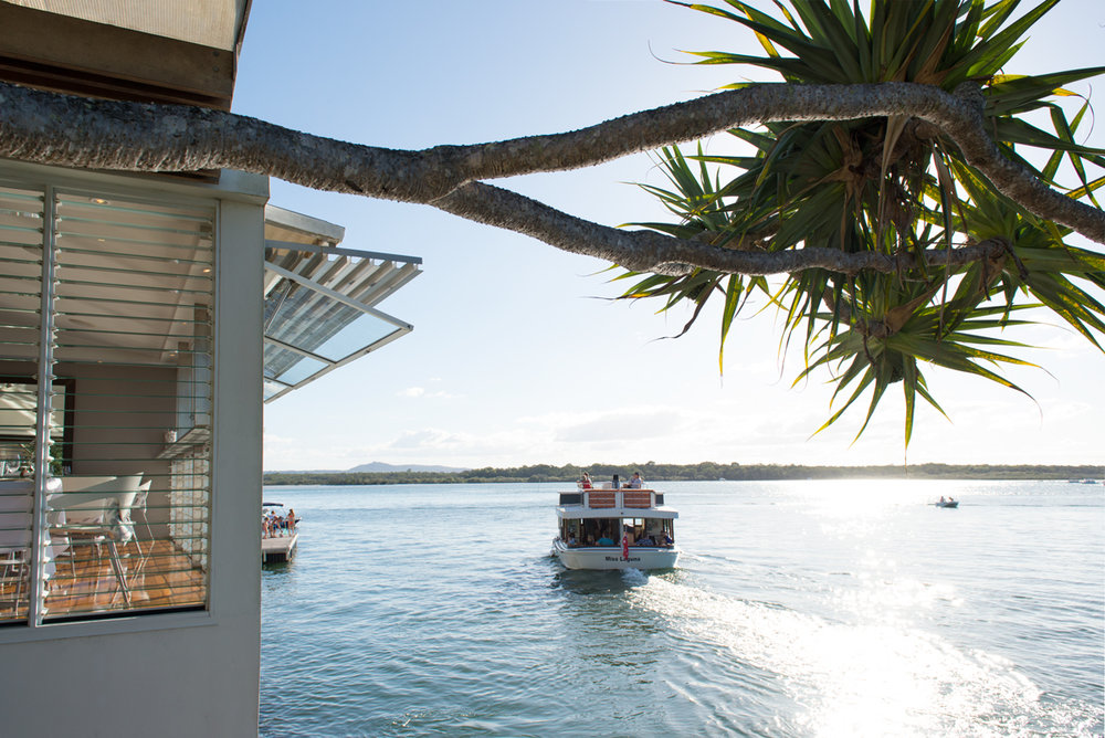Rickys Noosa - Rickys River Bar + Restaurant is a stunning Noosa waterfront venue ideal for weddings. It encapsulates the chic Noosa lifestyle, with a menu that celebrates the local produce and seafood found in this region.