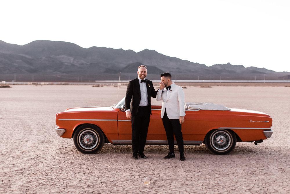 Ben and Ryan's Nevada Desert Elopement