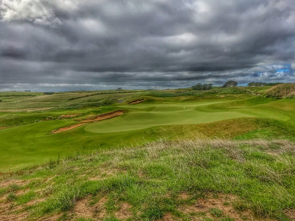 Ocean Dunes 12th and 15th shared green