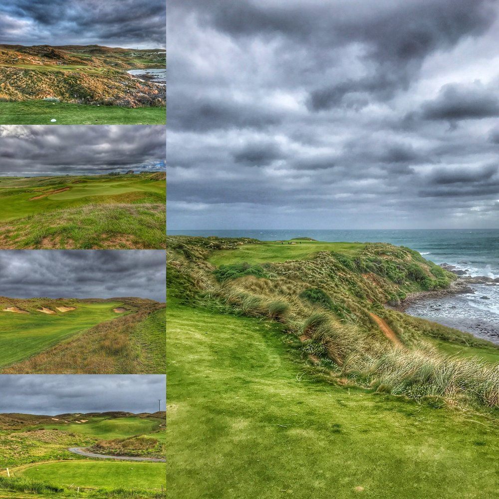Some of Ocean Dunes and Cape Wickham's beautiful holes