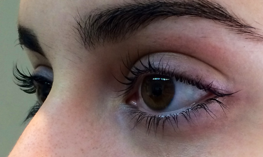 After Lash Lift.