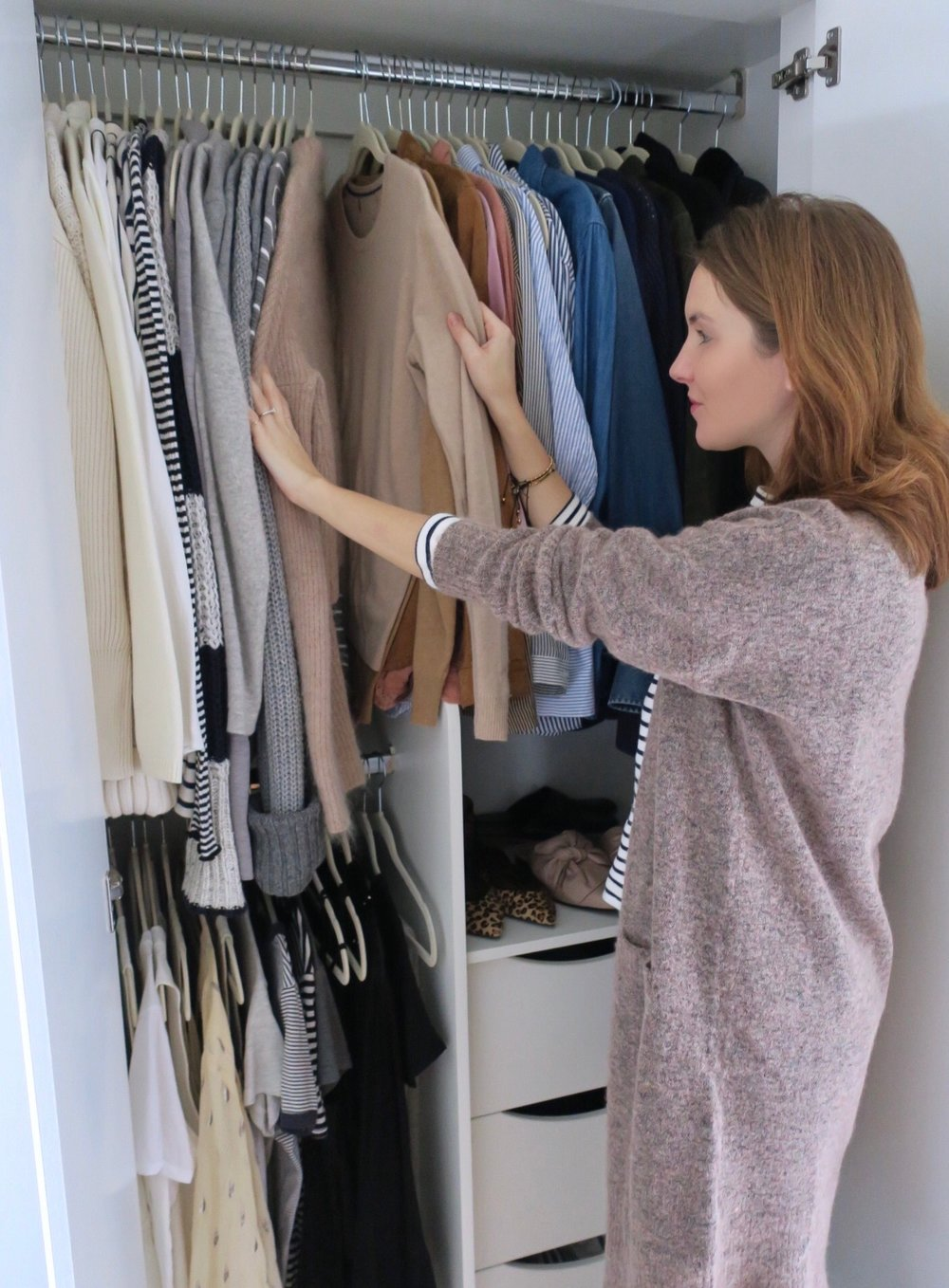WARDROBE CLEANSE - The Grown Up Edit