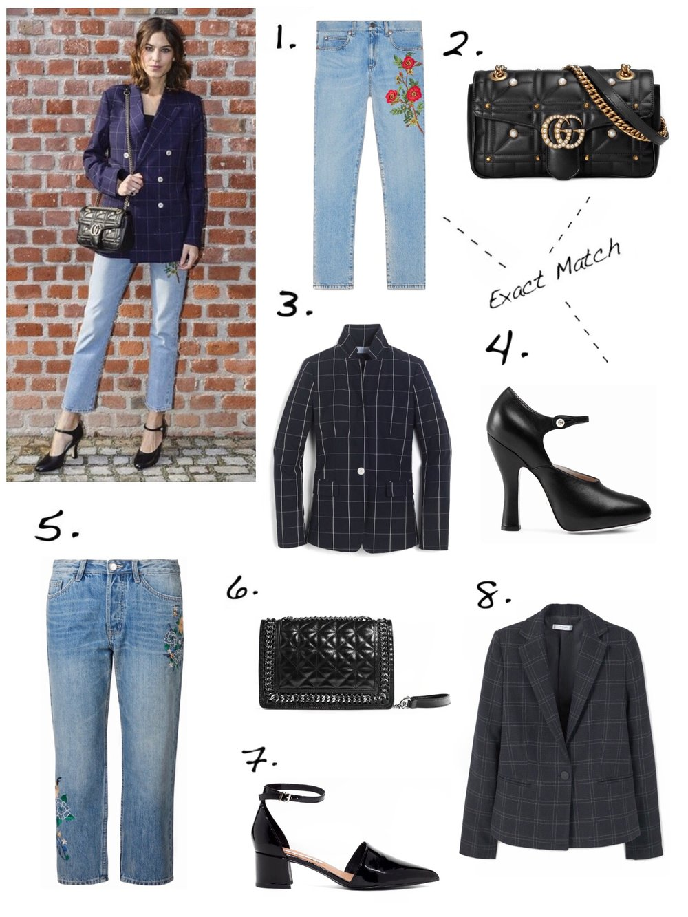 THE GROWN UP EDIT - Alexa Chung Style Shop The Look