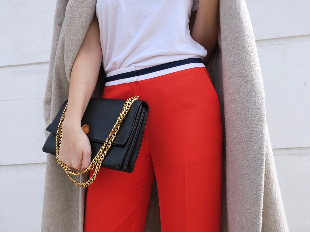 THE GROWN UP EDIT - Red Trousers