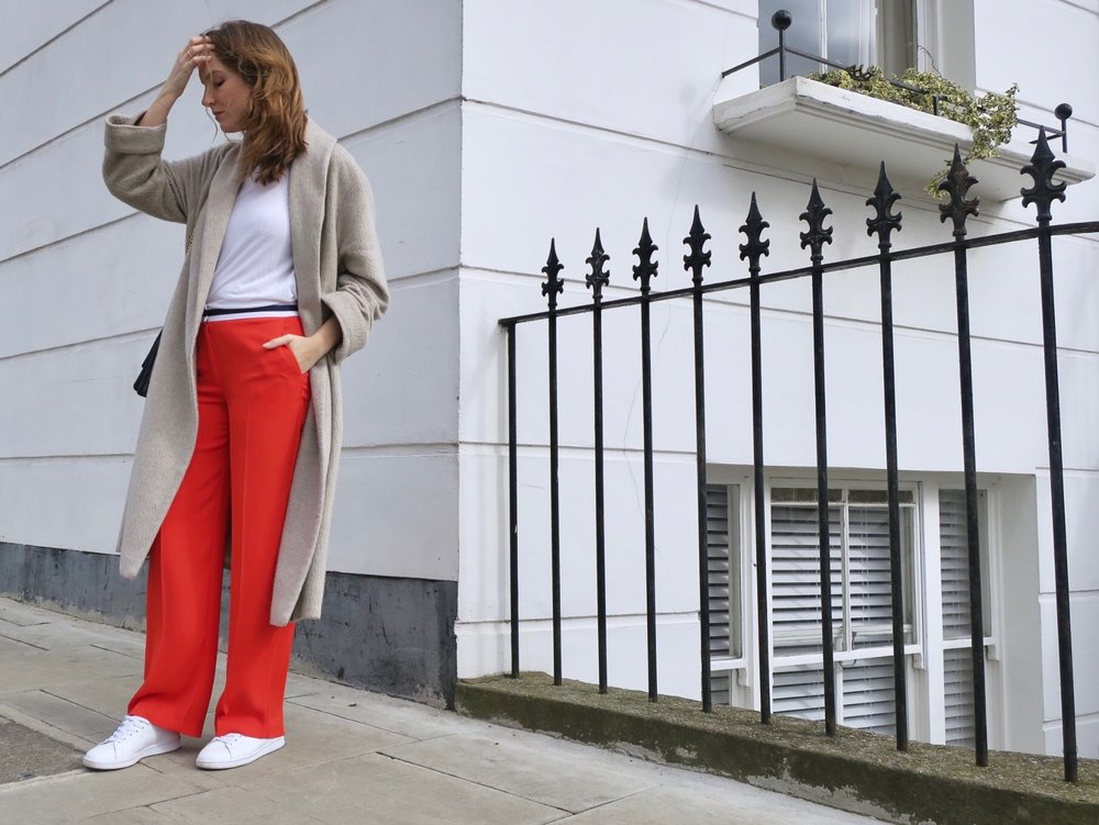 THE GROWN UP EDIT - Red Fashion Street Style
