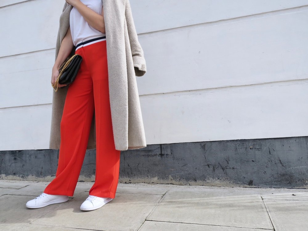 THE GROWN UP EDIT - Red Trousers Fashion Trend