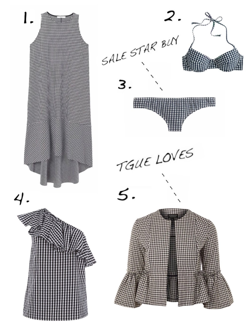 THE GROWN UP EDIT - Gingham