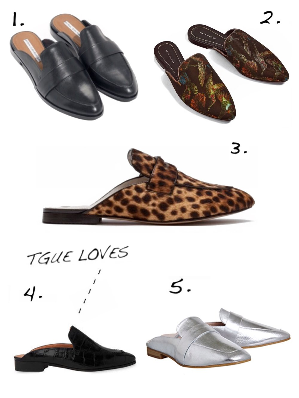 THE GROWN UP EDIT - Backless Loafers