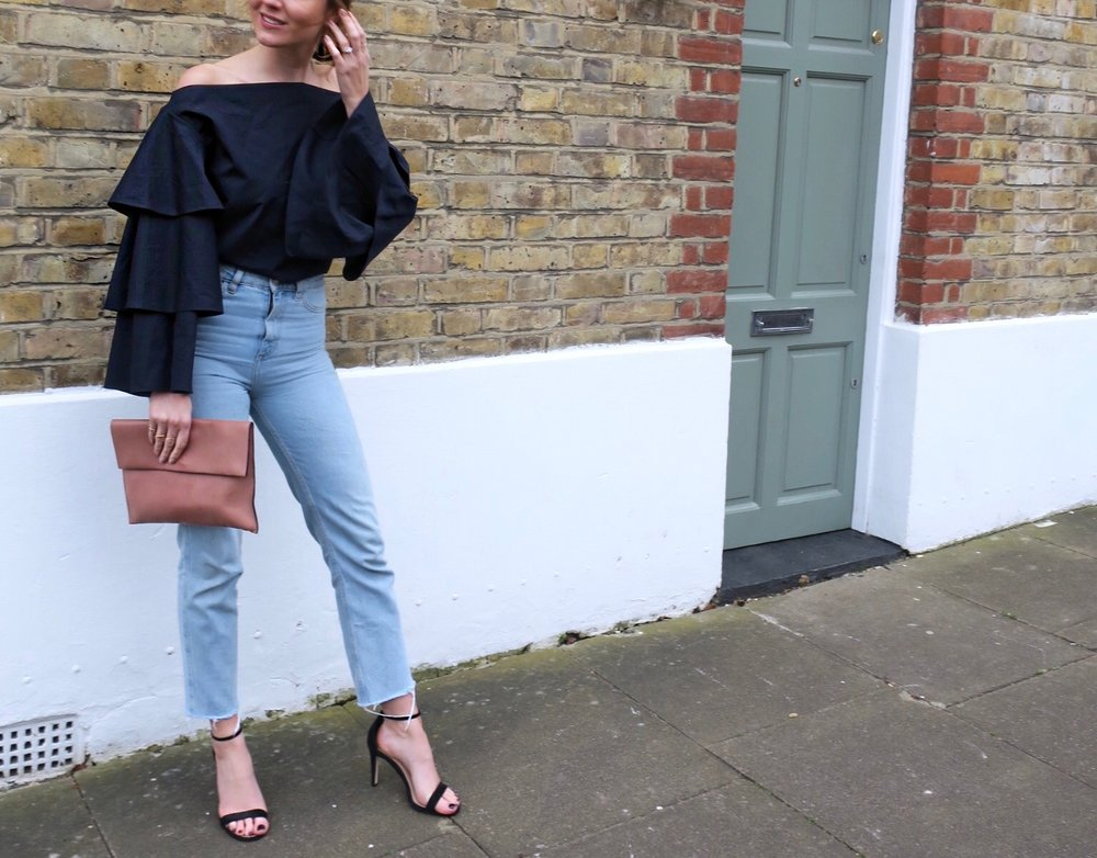 THE GROWN UP EDIT - Cold Shoulder Top
