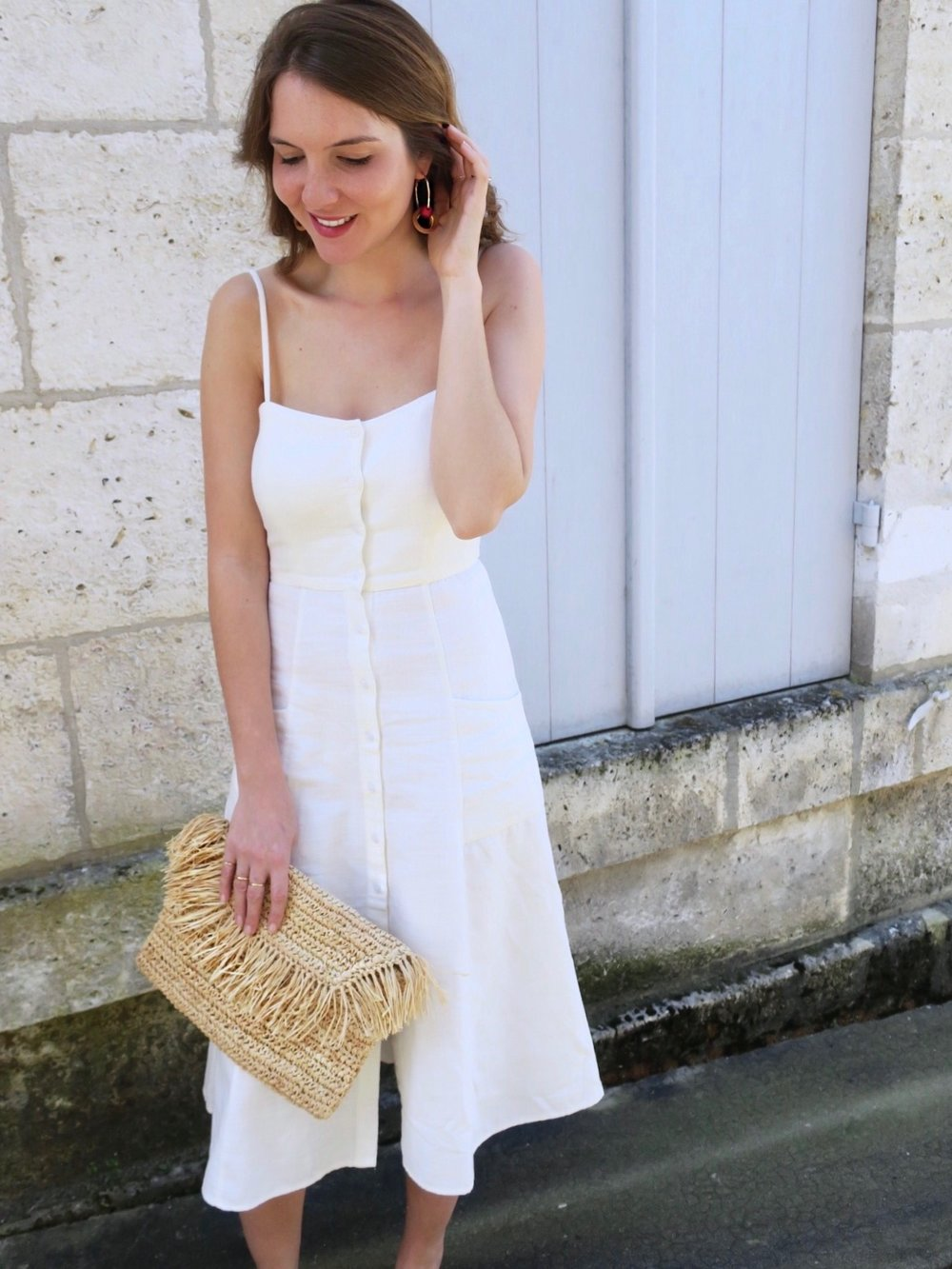 THE GROWN UP EDIT - Mango Straw Bag