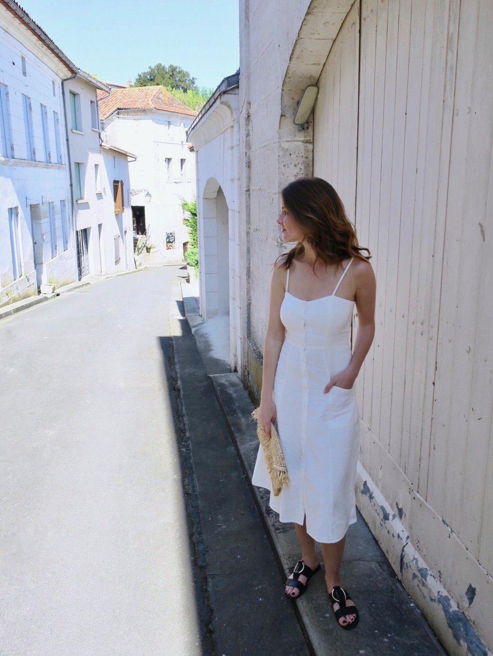 THE GROWN UP EDIT - Mango Summer Dress