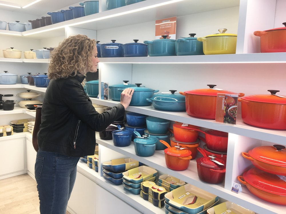 Le Creuset Casserole dish     £132 (previously    £199), £146 previously (  £219), £166 (previously   £249). I already have the orange one.
