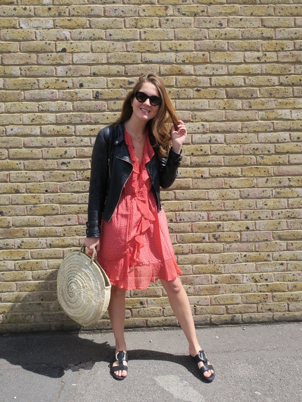 THE GROWN UP EDIT - Uterque Red Dress