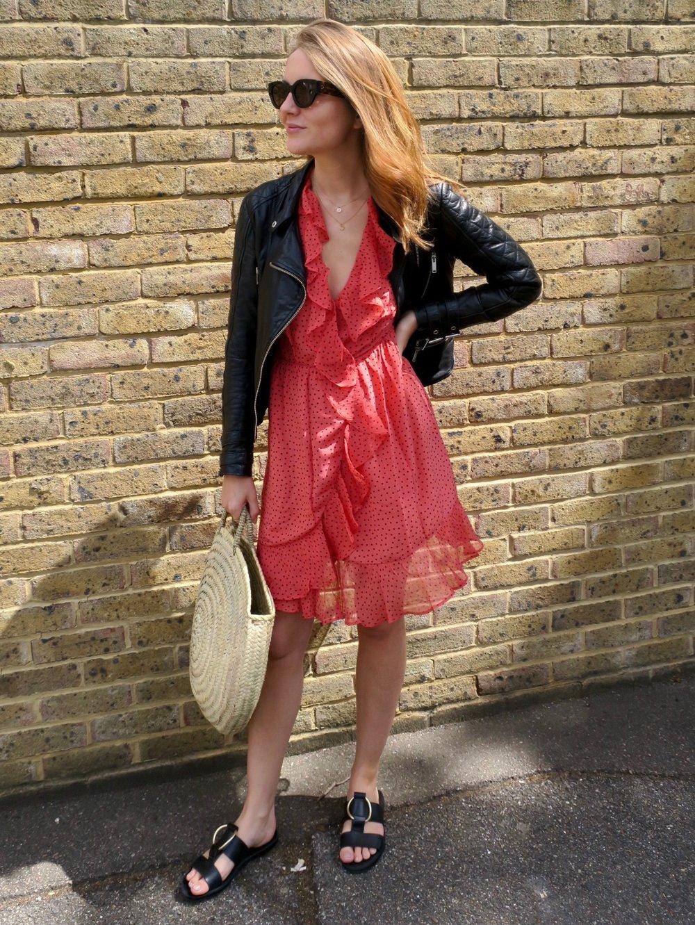 THE GROWN UP EDIT - Red Polka Dot Dress
