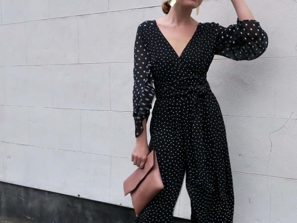 THE GROWN UP EDIT - Finery London Polka Dot Jumpsuit