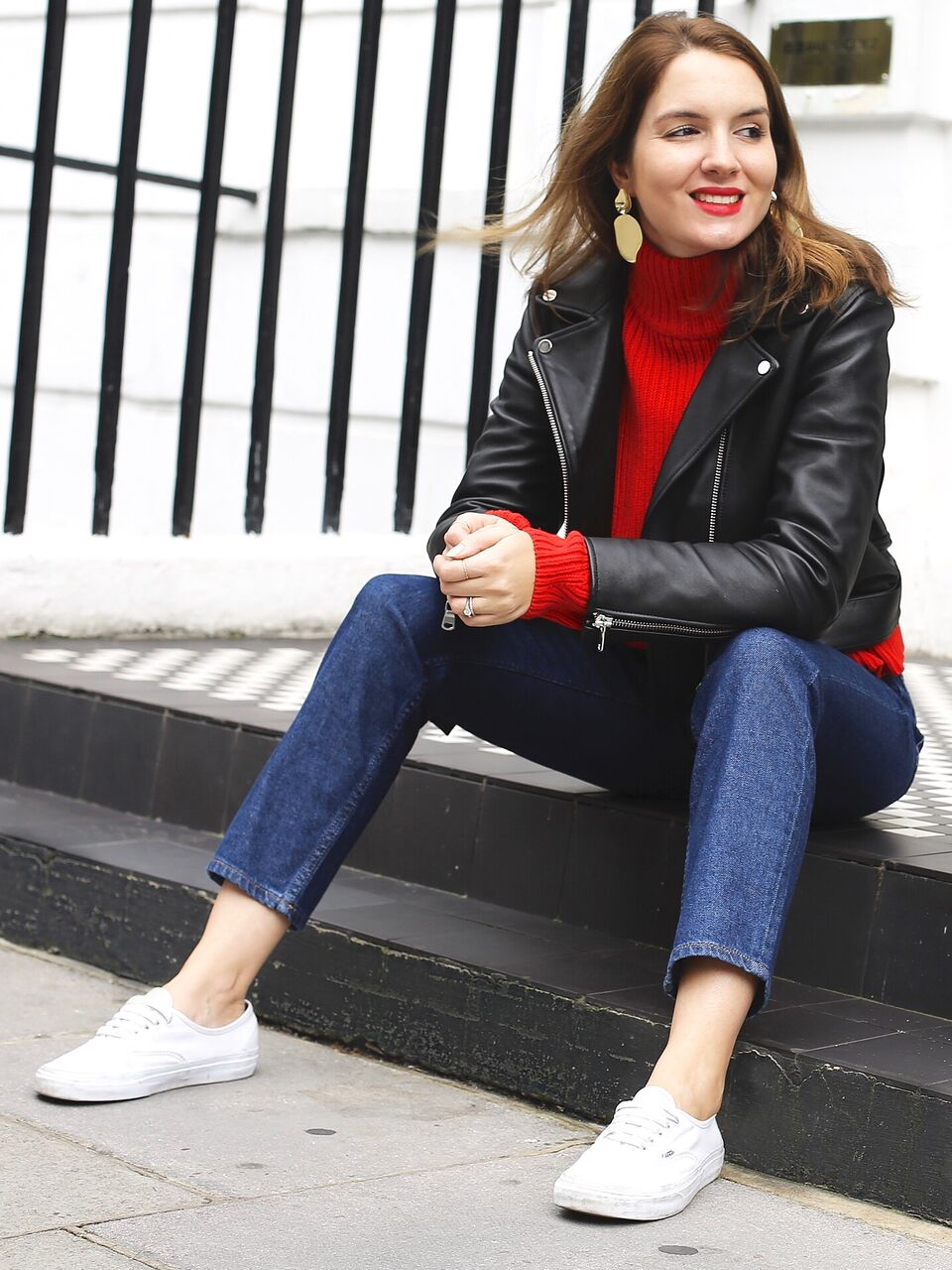THE GROWN UP EDIT - Red Knit