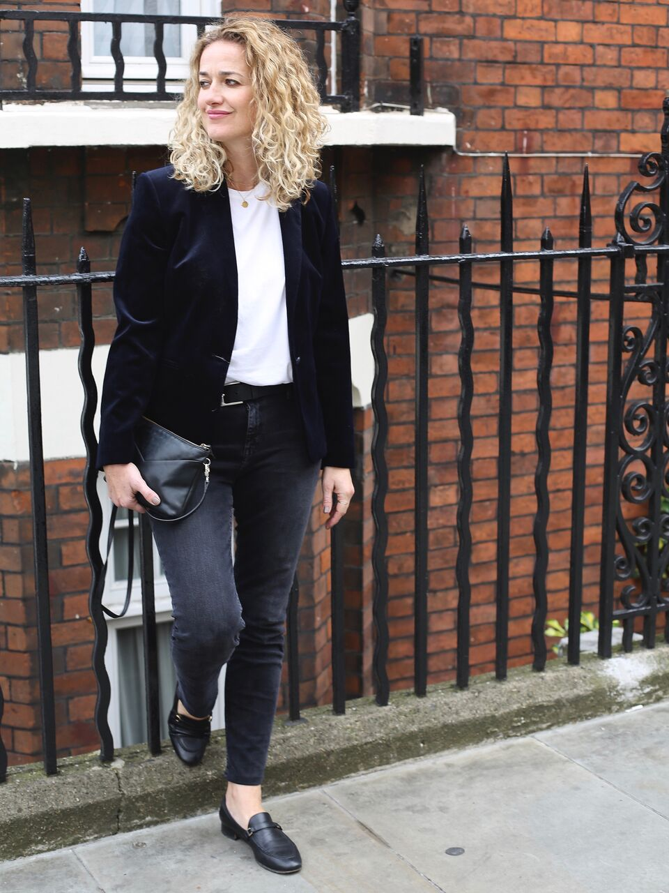 THE GROWN UP EDIT - Blazer Street Style