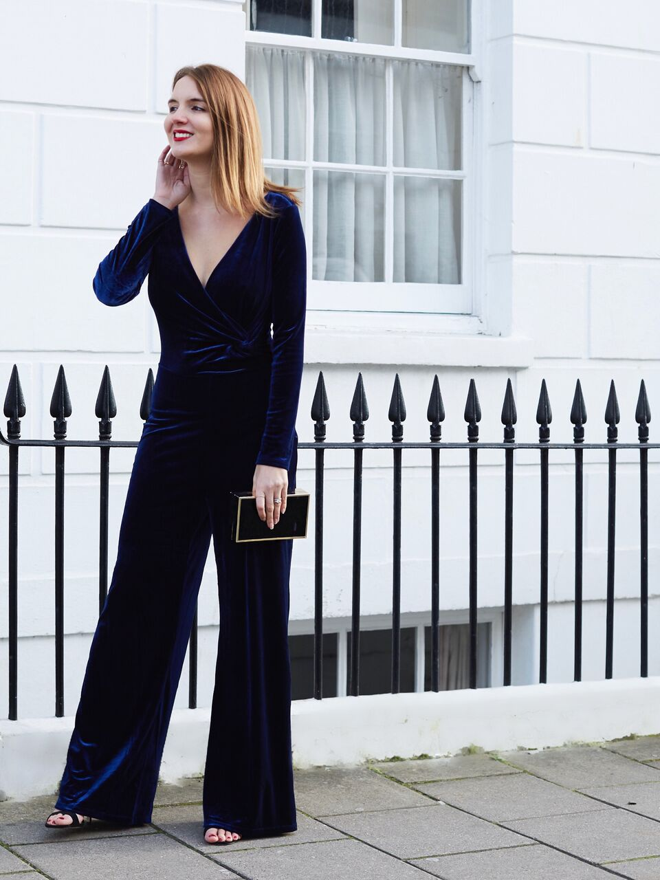 THE GROWN UP EDIT - Velvet Jumpsuit