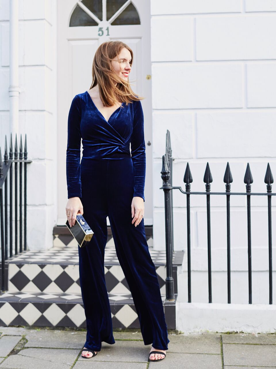 THE GROWN UP EDIT - Finery Velvet Jumpsuit