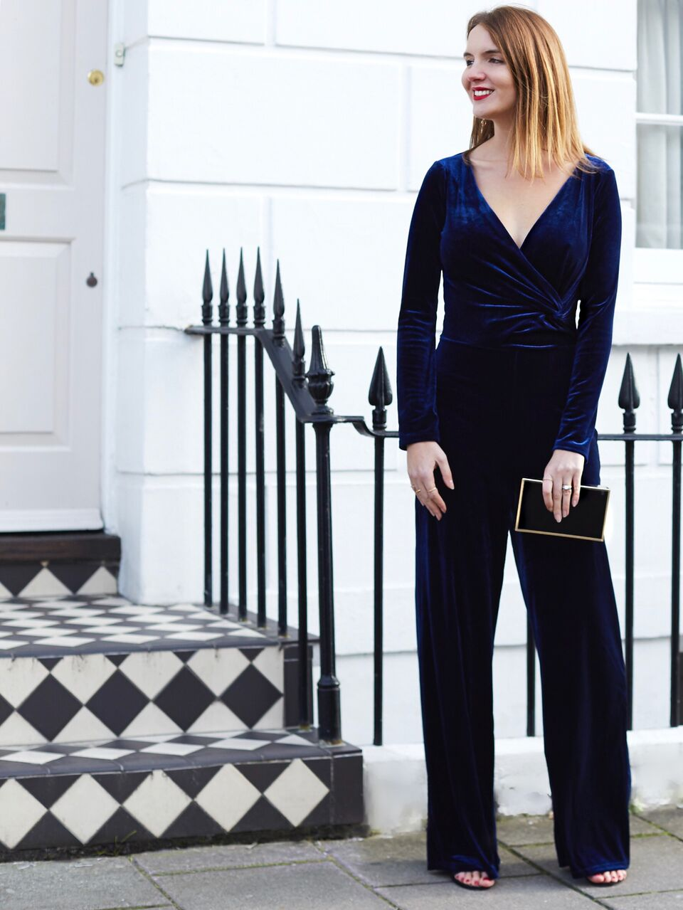 THE GROWN UP EDIT - Navy Velvet