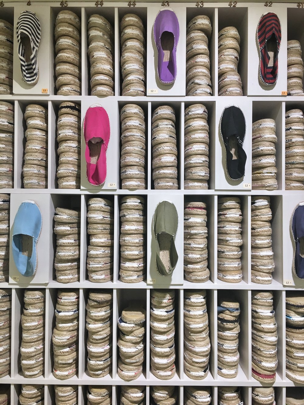 For the best espadrilles   Cereria Lluis