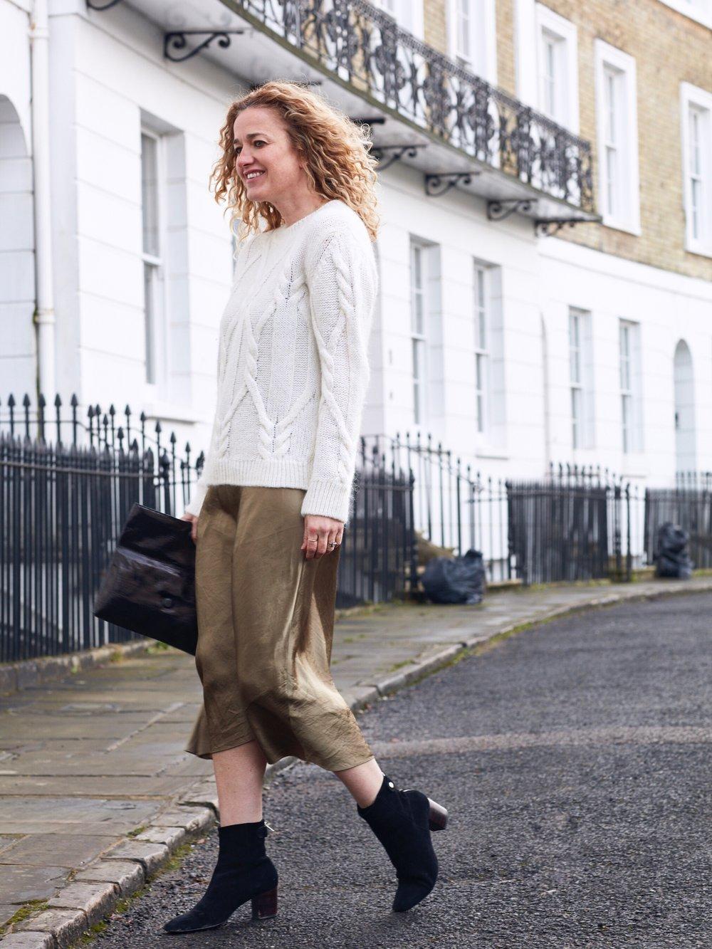 THE GROWN UP EDIT - Cream jumper