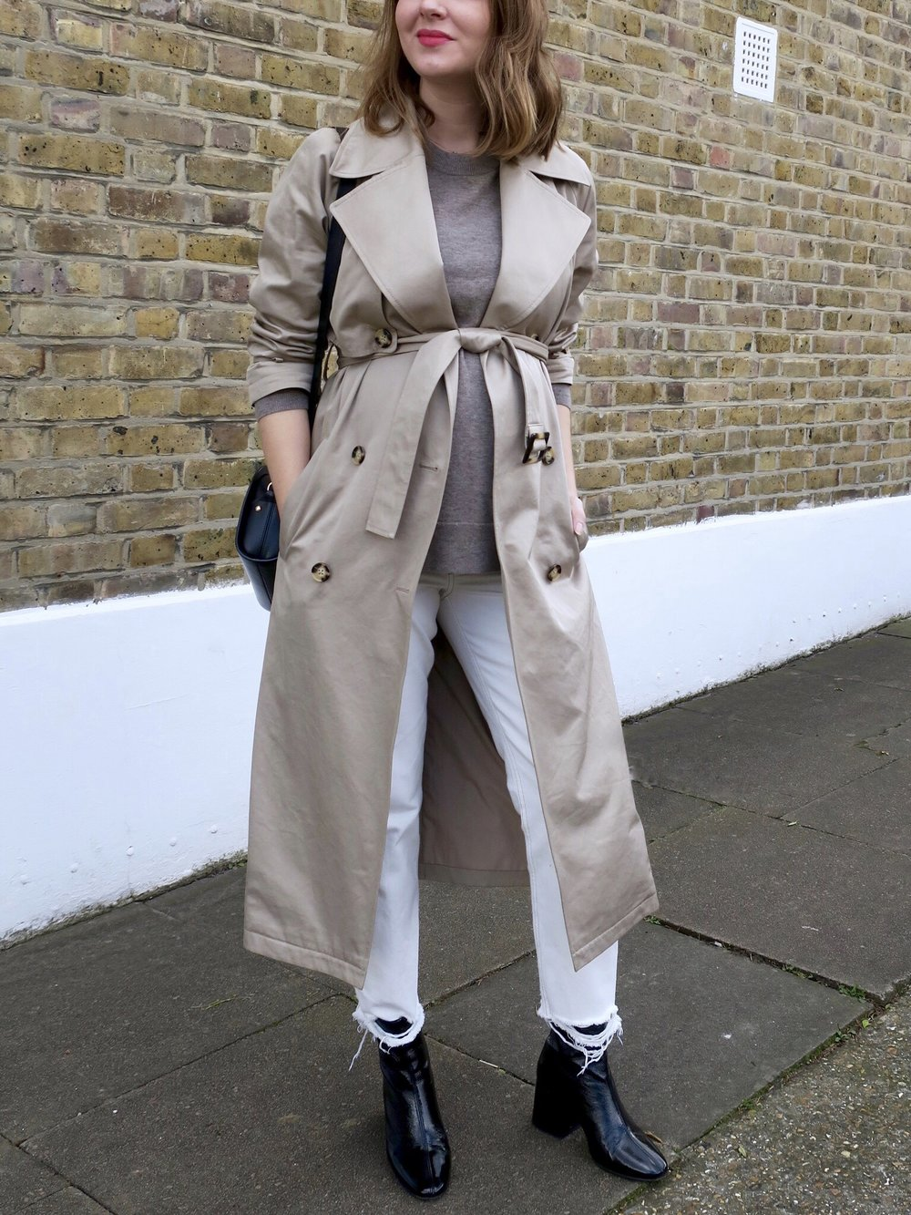 THE GROWN UP EDIT - Trench Coat Maternity