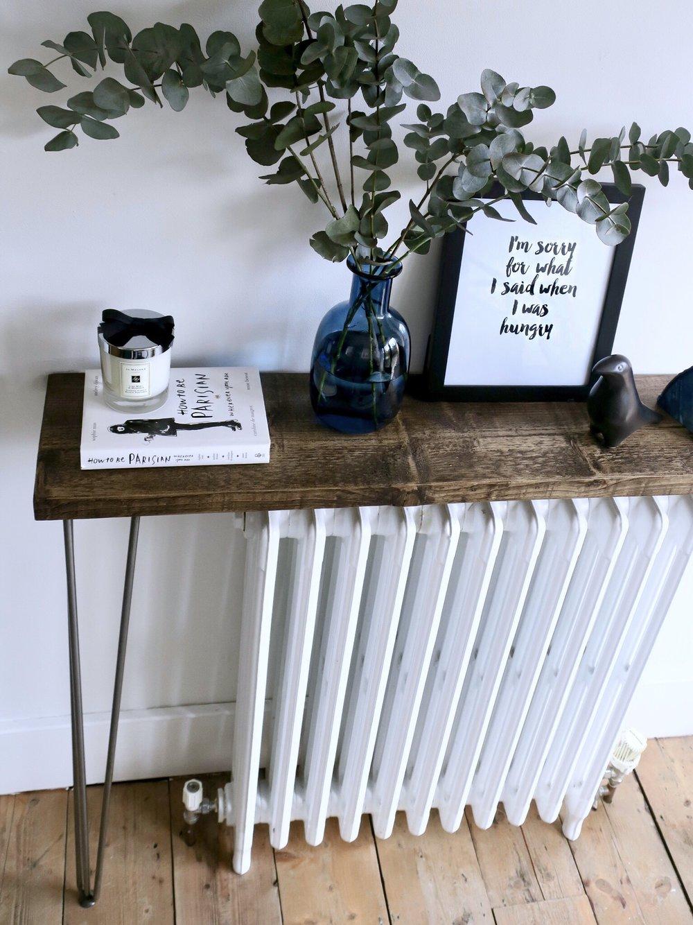 THE GROWN UP EDIT - DIY Hallway Table