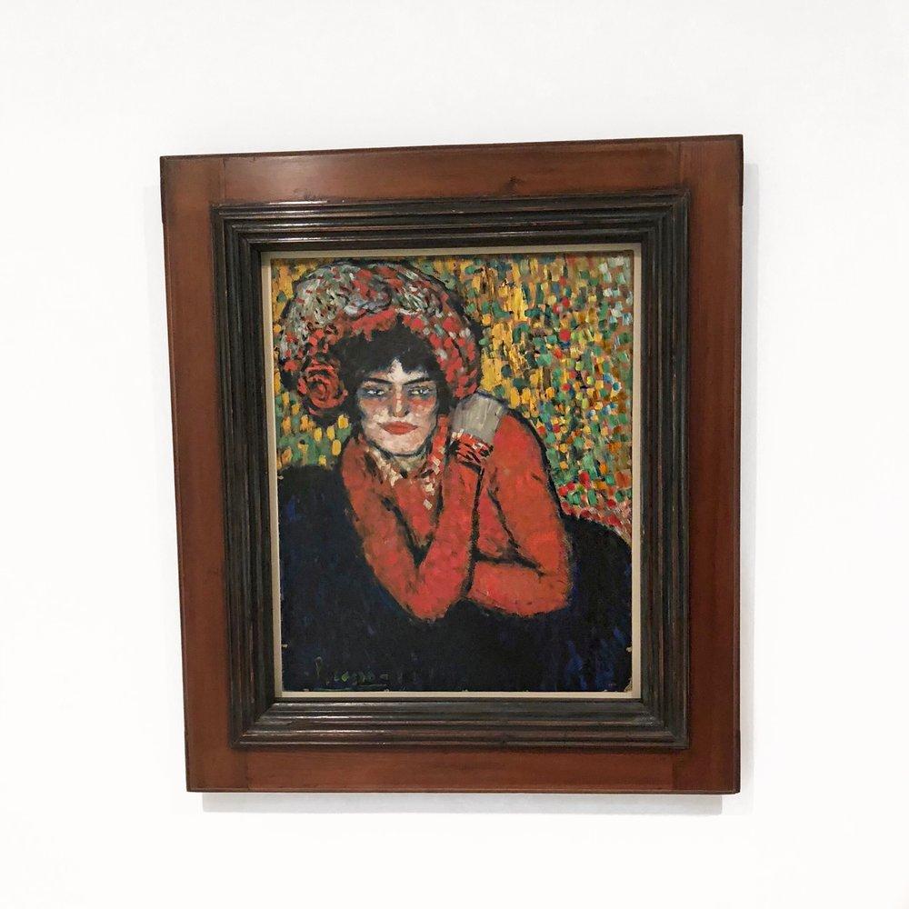 THE WAIT (MARGOT) 1901 - MUSEU PICASSO BARCELONA