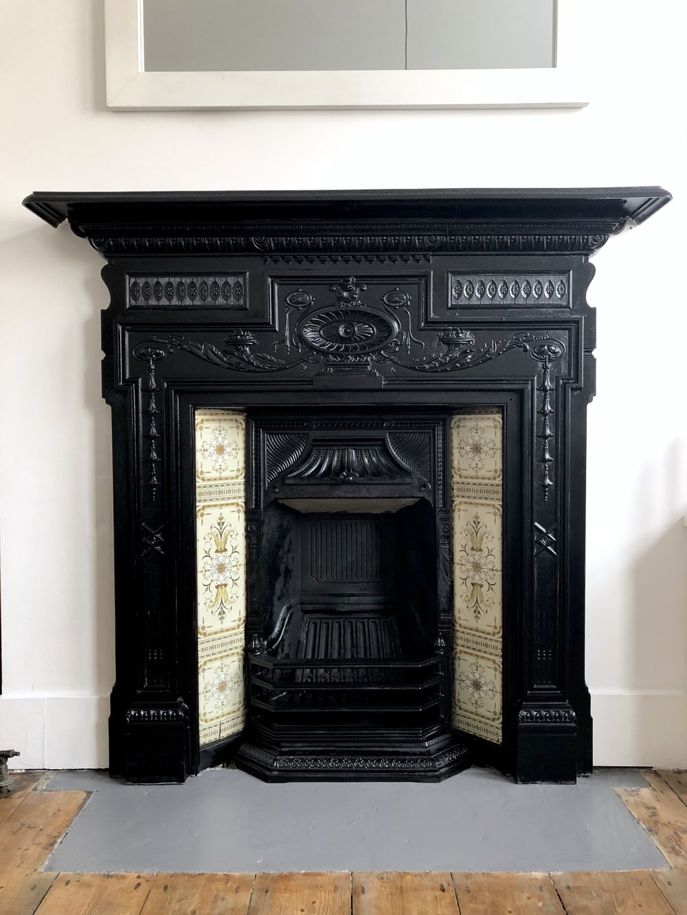 THE GROWN UP EDIT - VICTORIAN FIREPLACE