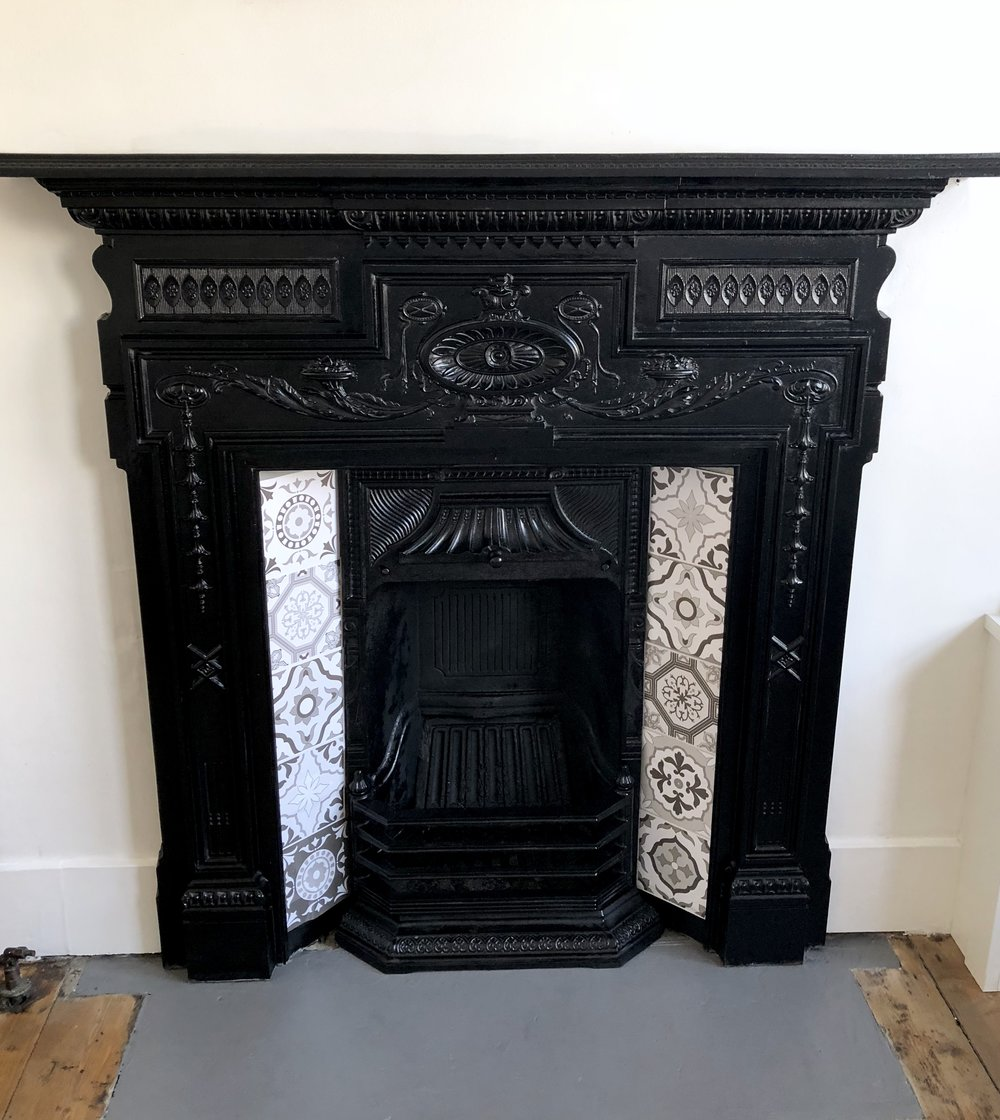 THE GROWN UP EDIT - FIREPLACE MAKEOVER