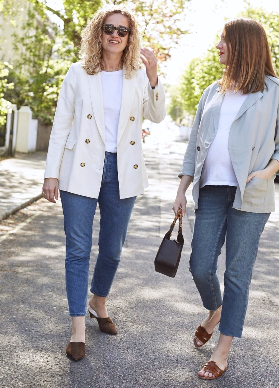 Wendy - blazer M&S sold out similar here, Dani - blazer  GREAT PLAINS was £95 now £50