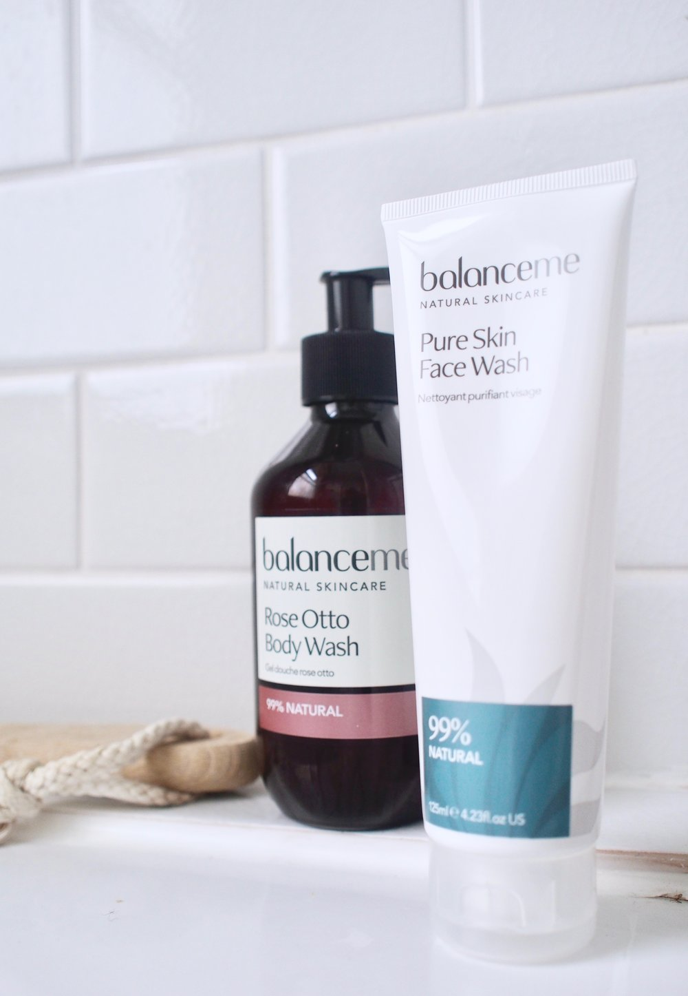 Rose Otto Body Wash   ,    Pure Skin Face Wash
