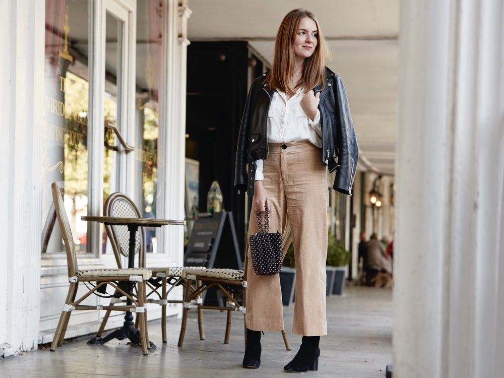 THE GROWN UP EDIT - CORD TROUSERS