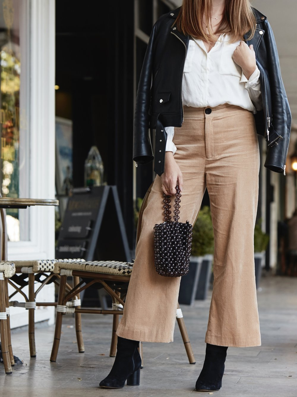 THE GROWN UP EDIT - CORDUROY TROUSERS