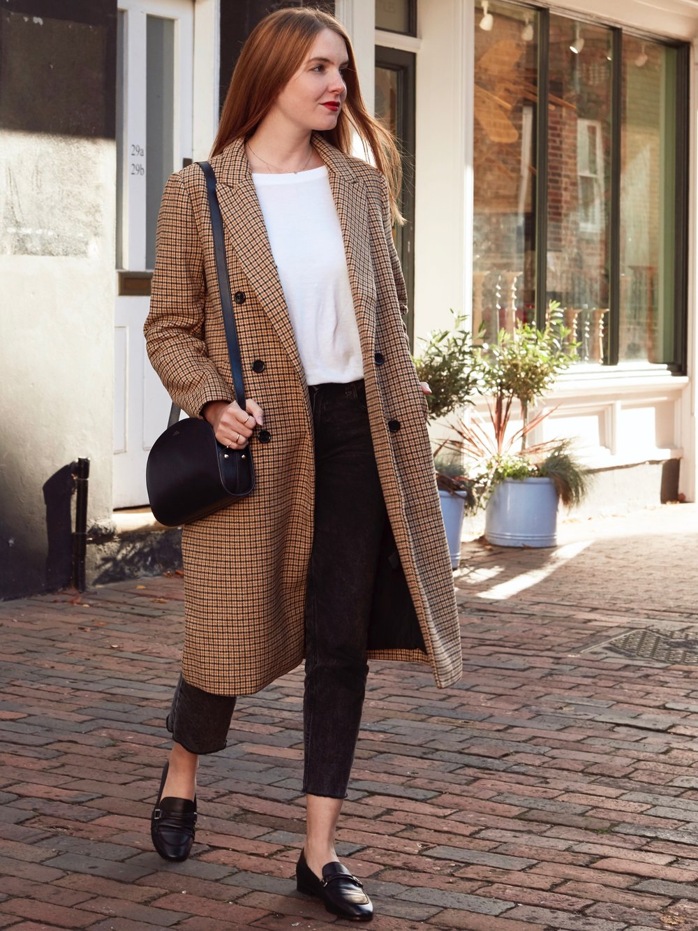 THE GROWN UP EDIT - CHECK COAT