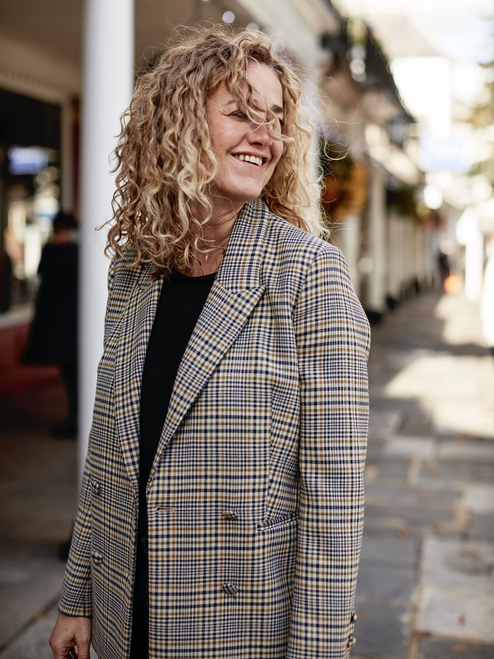 THE GROWN UP EDIT - CHECK BLAZER