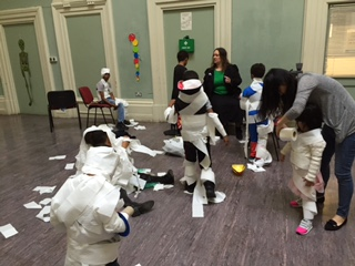 "FAMILY GAMES CLUB HAPPY HALLOWEEN EVENT ""THE MUMMY WRAP - oct 16"