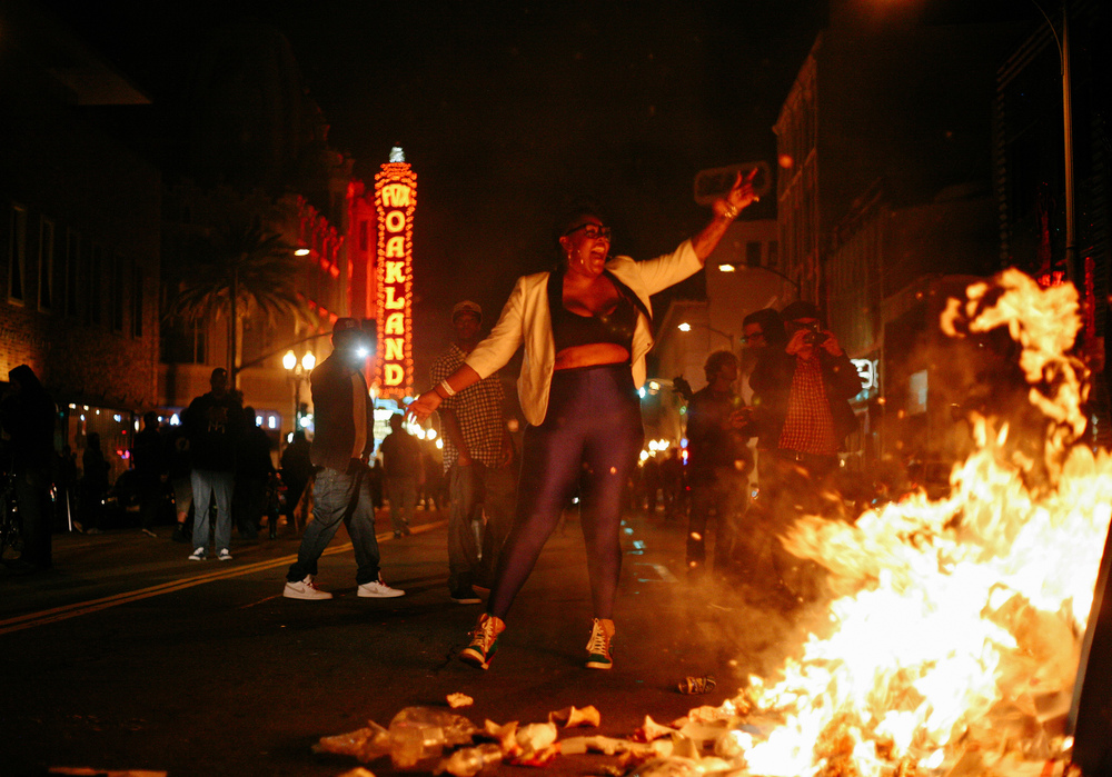 These photos were taken at protests in SF, Oakland, and Berkeley between 2011 and 2016.