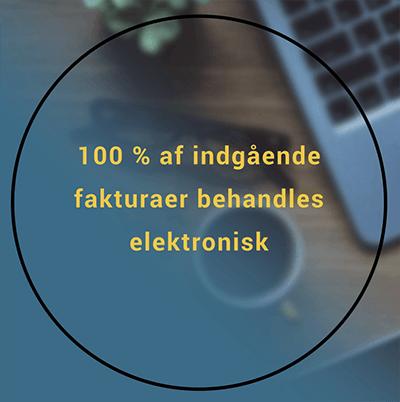 100 procent af indgående fakturaer behandles elektronisk.png